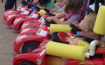 Babies! Start your engines! Winter Haven child gets the gift of mobility