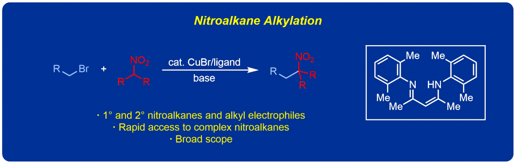 Nitroalkane Alkylation