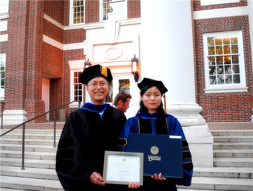 Qing is awarded the Allan P. Colburn Prize for 2014