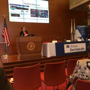 Marilyn Billings presenting