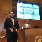 john buck receving award