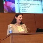 Cynthia Foronda speaking