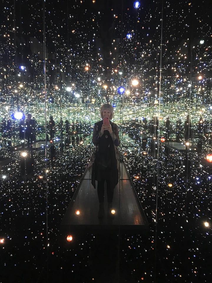 Yayoi Kusama's Infinity Mirrored Rooms
