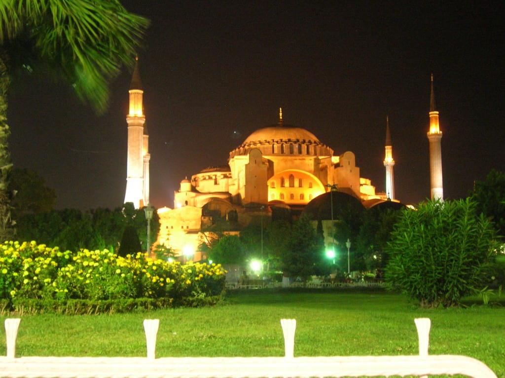 Hagia Sofia, Istanbul, Turkey, August 2007