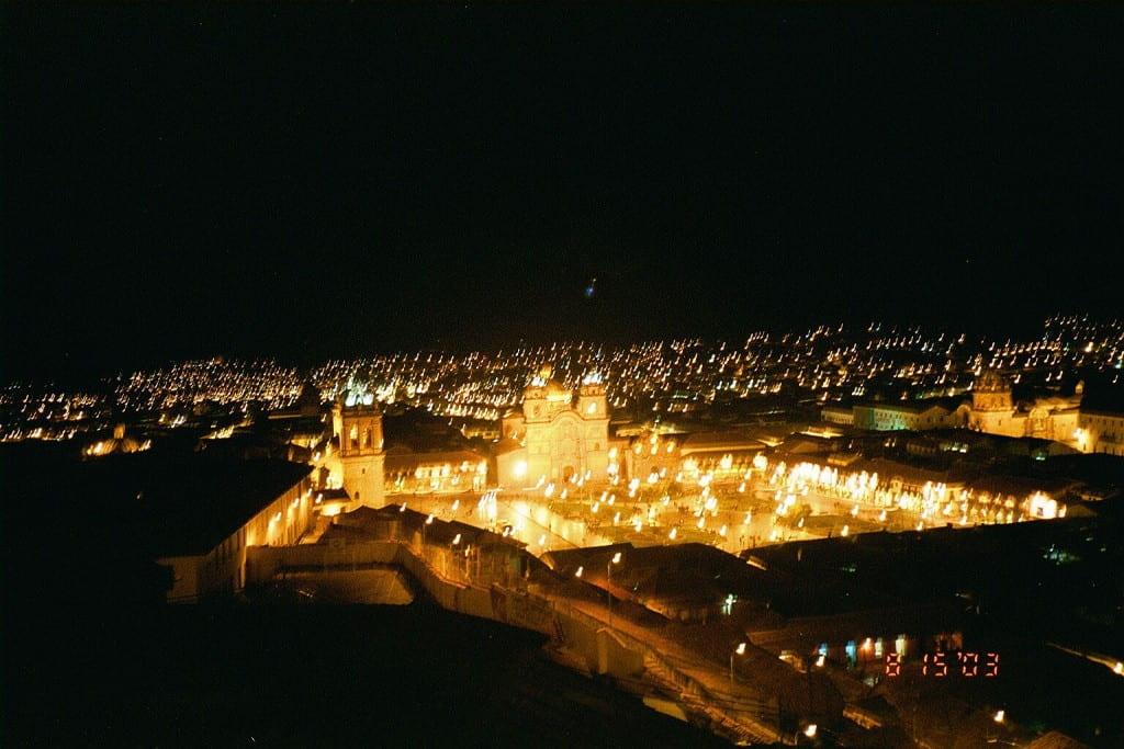 Plaza de Armas, Cuzco, Peru, August 2003