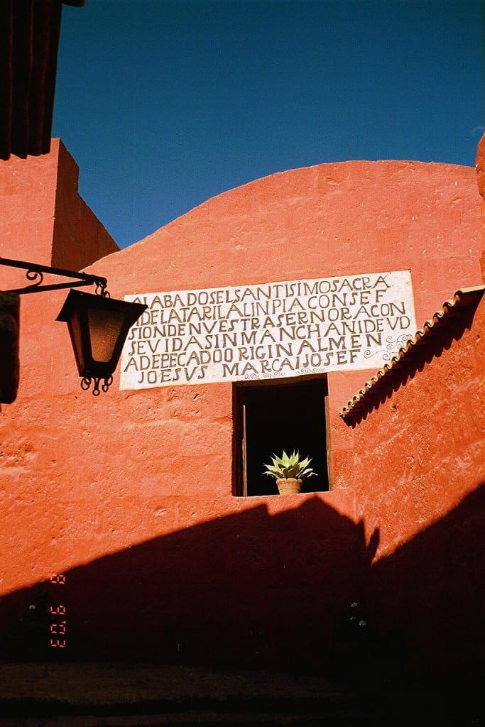 Monastery Santa Catalina, Arequipa, Peru, August 2003