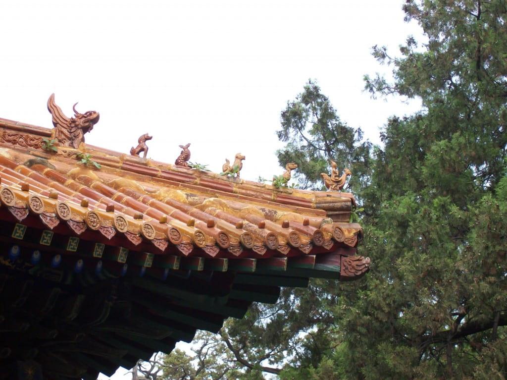Temple of Confucius (Kong Miao), Qufu, China, August 2008