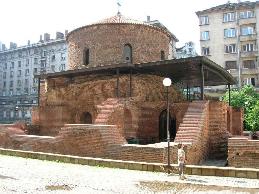 Rotunda St. George (Sveti Georgi, 2nd-4th century), Sofia, Bulgaria, July 2005