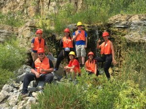 2019 Fossil group at the quarry