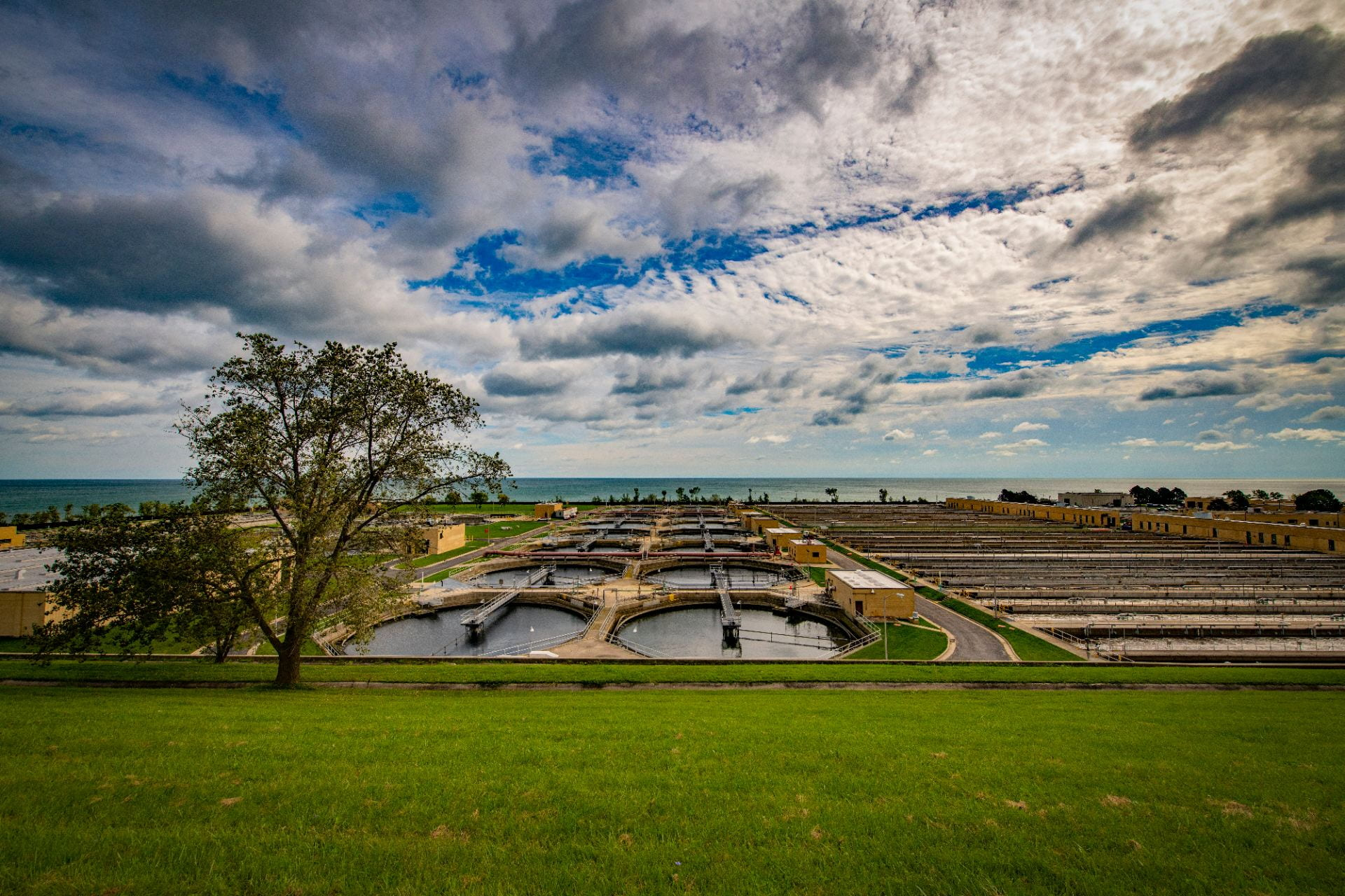 Wastewater treatment facility, Milwaukee