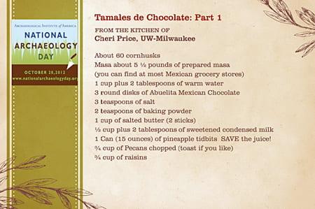 Tamales de Chocolate: Part 1