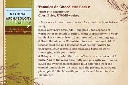 Tamales de Chocolate: Part 2