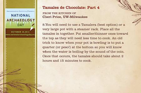 Tamales de Chocolate: Part 4