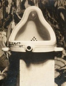 """""""Fountain"""" by Marcel Duchamp"""