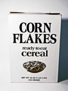 Generic Corn Flakes Box
