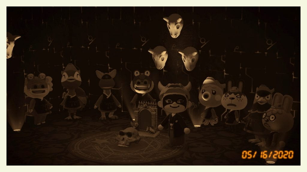 A very secret, very culty meeting