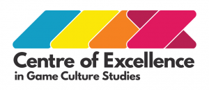 Centre of Excellence in Game Culture Studies logo