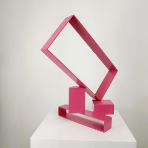 Berry Pink on Steel