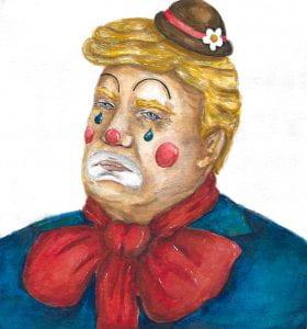 Sad Old Clown