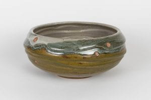 Large Bowl Fired in Gas Reduction Re