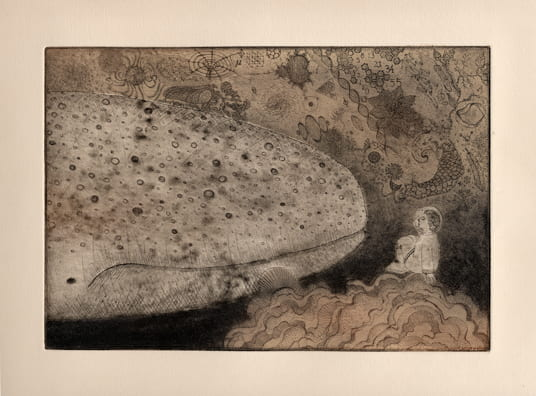 Secrets2012, etching, aquatint, drypoint, 6 x 9 inches