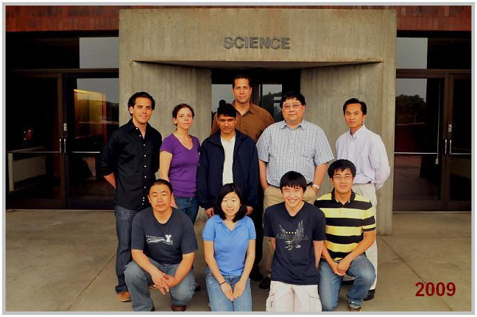 Lab group 2009