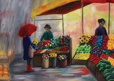 """Farmer's Market"" by Savannah Canavan"