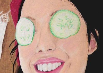 """Cucumber Eyes"" by Heather Rahl"