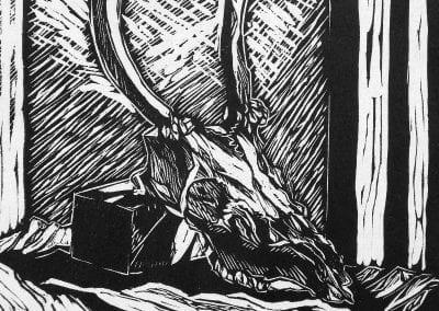 """""""Skull"""" by Tea Blumer"""