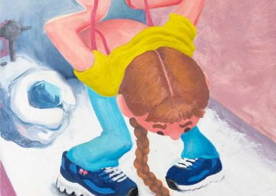 """First Bra"" by Meg Selkey"