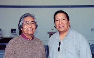 With Simon Ortiz