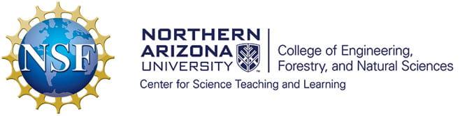 NSF and NAU logos
