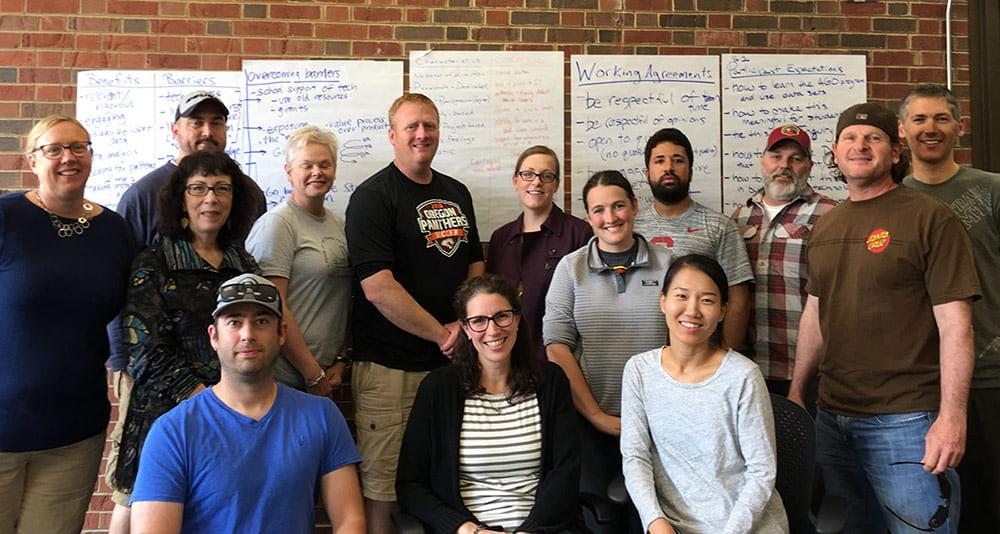 Workshop 2 participants, 2019