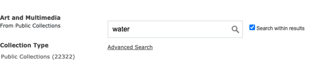 """Checkbox to """"Search within results"""" next to search box"""