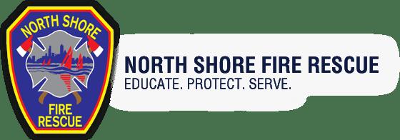 North Shore Fire Rescue logo