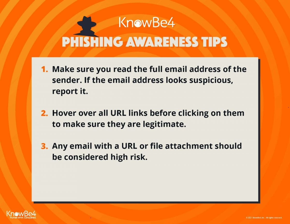 Cyber Security Awareness Month: Phishing Awareness Tips