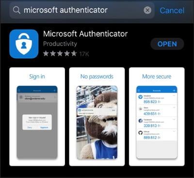 Install Authenticator