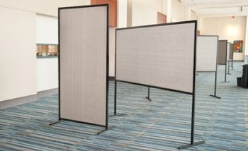 Large posterboard display stands