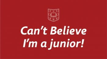 junior first day sign