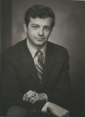 Joseph Avruch, MD: 1971-1972 Chief Resident