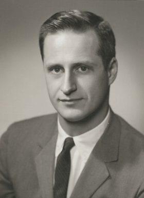 Morton Binder, MD: 1957-1958 Chief Resident