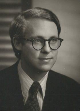 Edgar Boedeker, MD: 1973-1974 Chief Resident