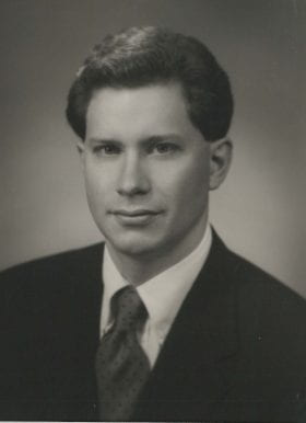 Charles Carey, MD: 1997-1998 Chief Resident