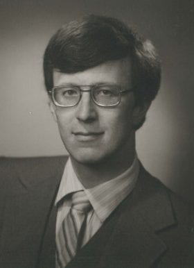 William Clutter, MD: 1980-1981 Chief Resident