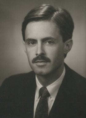 Wm. Claiborne Dunagan, MD: 1989-1990 Chief Resident