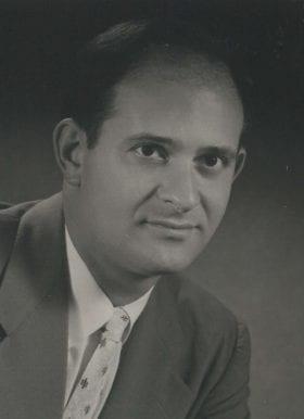 Bernard Garfinkel, MD: 1953-1954 Chief Resident