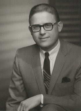 Lester Garfinkel, MD: 1964-1965 Chief Resident