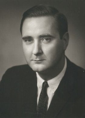 James Heins, MD: 1966-1967 Chief Resident