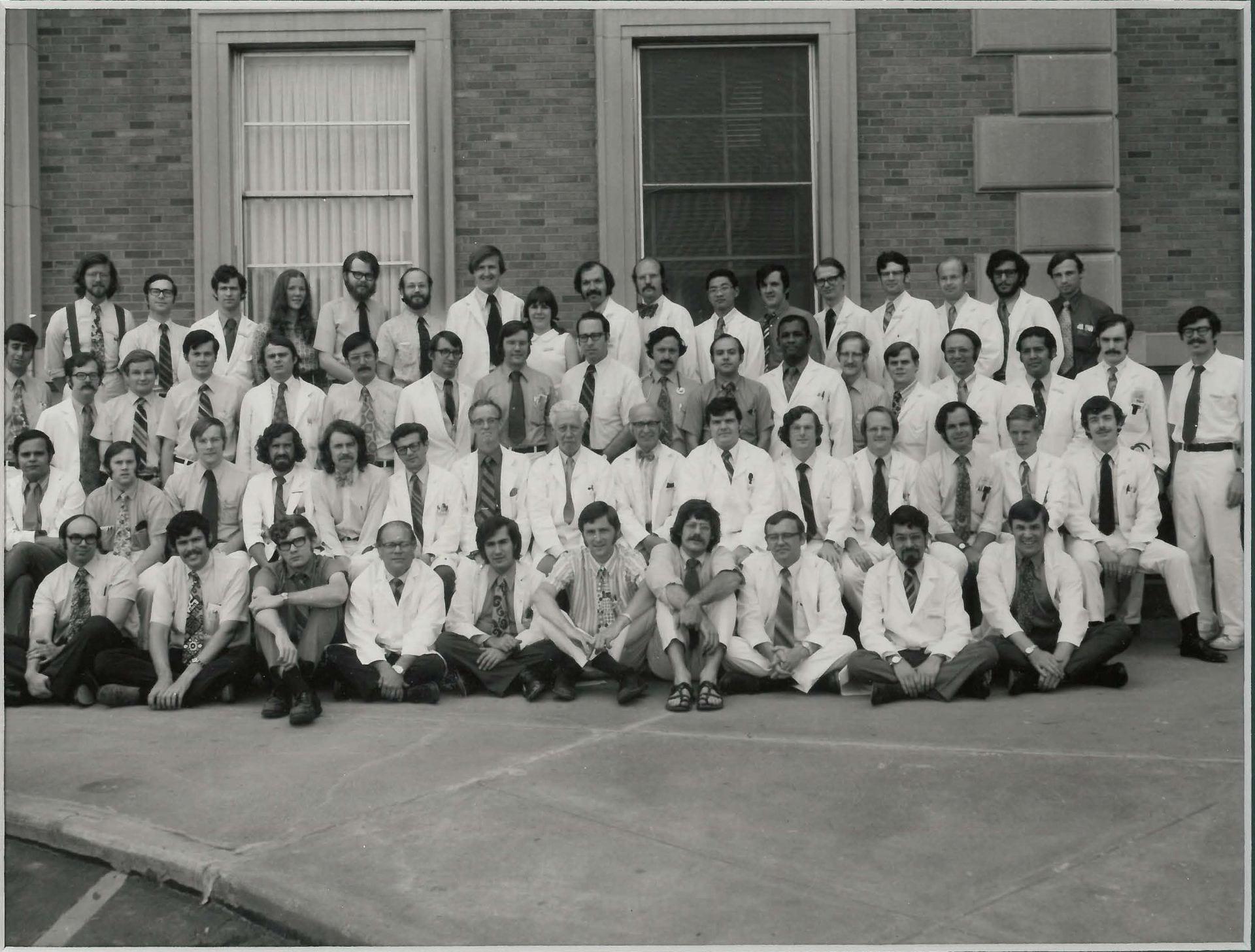 1971 Housestaff Photo