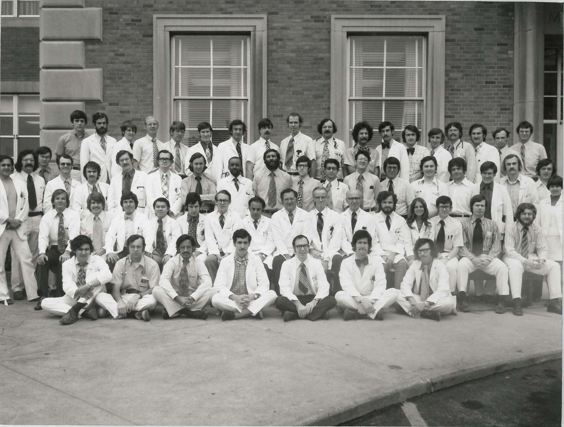 1973 Housestaff Photo